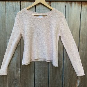BP dusty pink crop sweater, S